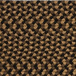 Black Brown Cream Country Braided Area Rug And Runner Many Sizes Available