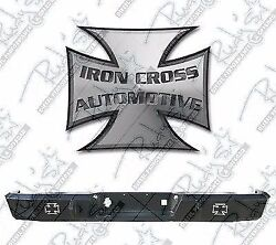 Iron Cross Full Size Hd Rear Bumper For 88-98 Chevy Silverado Gmc Sierra