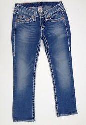 True Religion Jeans 'JOHNNY SUPER T' Size 25 EUC RRP $489 Womens or Girls