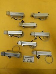 Smc Cdqsb16-75dc Pneumatic Air Cylinder Jb16-4-070 Lot Of 8 Used Working