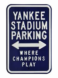 Mlb Fans Parking Metal Steel Street Sign Embossed Select Your Team New