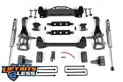 Bds Suspension 1504h 4 Lift Kit For 2014 Ford F-150 2wd Diesel/gas