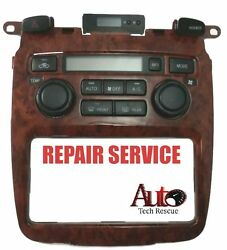 04-07 Toyota Highlander automatic heater and ac climate control REPAIR