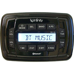 Infinity Marine Stereo Digital Media Receiver AMFM Bluetooth Audio Streaming