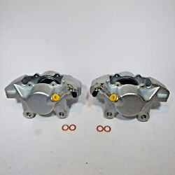 Pair Of Brand New Brake Calipers Caliper Set For Mgb 1963-1980 Great Quality