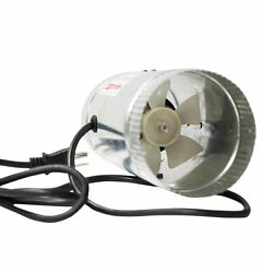 iPower GLFANXBOOSTER4 Inline Duct Booster Fan with Cord 4-Inch Diameter 90 12