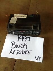 95 96 97 98 99 Buick LeSabre  AC Heat Climate Control Switch Panel