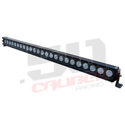 41 Led Light Bar Combo Beam Fits Snow Plow Blower Lawn Tractor Mower Towing
