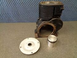 Mustang Motorcycle Scooter Bottom End Cylinder And .010 New Piston 876