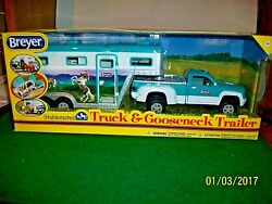 Breyer Stablemates Truck and Gooseneck Trailer Set # 5356 new in Box