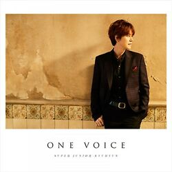 New Super Junior-kyuhyun One Voice First Limited Edition Cd Dvd Card Japan F/s
