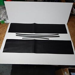 New Black Door Cap Capping Recover Kit For Mgb 1965-1980 Made In Uk