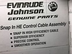 764116 Snap In HE Cables 0764116 Remote Control Evinrude Johnson Outboard motor