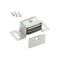 10 Rok Hardware Double Side Magnetic Catch Latch Cabinet Closet Drawer Doors