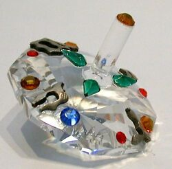 Dreidel Handcrafted By Bjcrystalgifts Using Faceted Crystal
