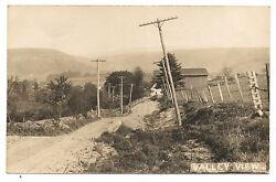 Rppc Valley View Laceyville Pa Wyoming County Pennsylvania Real Photo Postcard