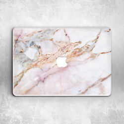 Rose Gold Marble White Girly Hard Cover Case For Macbook Pro 16 13 15 Air 11 13