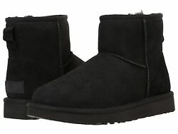 Women's Shoes UGG Classic Mini II Boots 1016222 Black 5 6 7 8 9 10 11 *New*