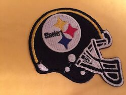 Nfl Pittsburgh Steelers Helmet Football Patch 4 Iron On Or Sew On