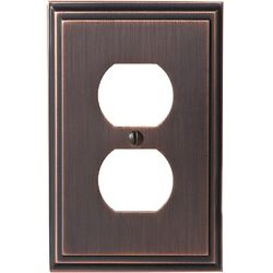 Amerock Mulholland Wall Plate Cover Toggle Rocker Plug OIL RUBBED BRONZE A365