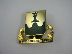 Military Insignia Emblem Pin Service To The Troops 519th Mp Battalion