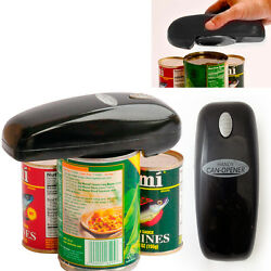 As Seen On Tv Handy Can Opener Black Battery-operated Auto Hands-free Opener