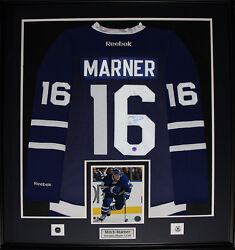 Mitch Marner Toronto Maple Leafs Signed Jersey Nhl Hockey Collector Frame