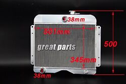 3 Rows Cores 1946 -1964 Jeep Willys Aluminum Radiator 47 48 49 50 51 52 53