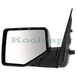 06-10 Explorer Rear View Door Mirror Power Non-heated W/puddle Lamp Driver Side