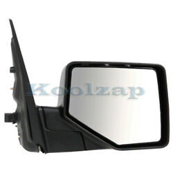 06-10 Explorer Rear View Door Mirror Power Non-heated W/puddle Lamp Right Side