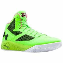 Under Armour UA Curry Clutchfit Drive Two 2 Hyper Green Elite 24