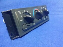97 98 99 00 Chevy Venture Oldsmobile Silhouette Heater Climate Control Panel OEM