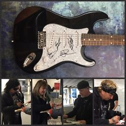 GFA Jack Russell Band * GREAT WHITE * Signed Autograph Electric Guitar PROOF COA