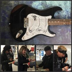 GFA Jack Russell Band * GREAT WHITE * Signed Electric Guitar PROOF AD1 COA