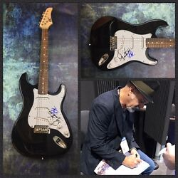 Gfa Danny Seraphine And Loughnane Chicago Band Signed Electric Guitar Ad1 Coa