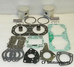 Kawasaki 800 SXR +1.00mm WSM Top End Rebuild Piston Kit SX-R  2003-2012