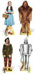 The Wizard Of Oz Set Of 4 Cardboard Cutouts Dorothy Lion Scarecrow And Tin Man