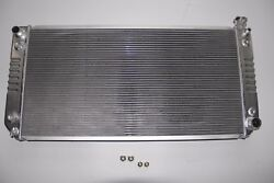 3 Rows/cores 1994-95 Chevy C/k 1500 2500 3500 V8 Aluminum Radiator 34 Wide Core