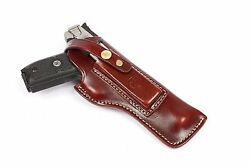 Smith And Wesson Lh Sandw Victory Sw22 5.5, Left Hand Barrel Leather Holster 9388