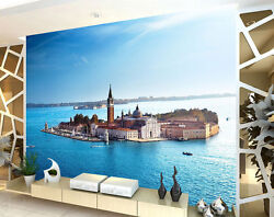 Church San Giorgio Sea Full Wall Mural Photo Wallpaper Print Kids Home 3d Decal