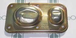 1970-1980 Oldsmobile Master Cylinder Cover. Moraine. Correctly Color Plated.