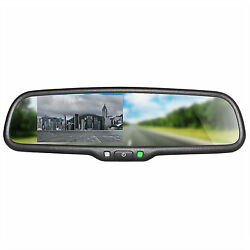 Master Tailgaters Oem Rear View Mirror With 4.3 Auto Adjusting Brightness Lcd
