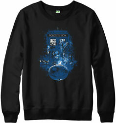 Doctor Who Design JumperLife of Doctor SpoofPolice BoxAdult and kids Sizes