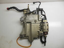 Yamaha Outboard Fuel Pump With Float Chamber. P.n. 69j-24410-02-00 Vst F250