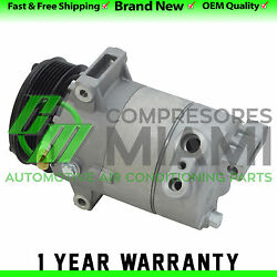 New AC Compressor and Clutch Fits Chevrolet Cobalt 05-07 Saturn Ion 04-07