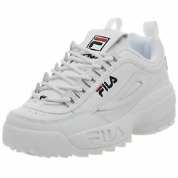 Fila Disruptor Ii 100 Authentic Menand039s White Shoes Fw01655-111 S