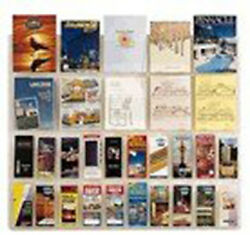 Wall Mount 30 Pocket Combination Magazine And 4x9 Brochure System
