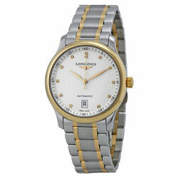 New Longines Master Collection Diamond Dial Two Tone Mens Watch L26285777