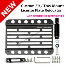 Audi A5 08-16 8t Multi Angle Tow Hook Mount License Plate Bracket