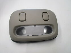 2005-2011 Town Car Overhead Console Map Lights With Bracket Gray Stone